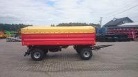 Przyczepa rolnicza ciężarowa CZERWONA  PR 800 EKO 8t SIPMA  Promocja