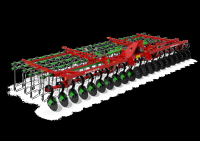 Brona Mulczowa hydraulicznie składana BM 7,5m AGRO-MASZ