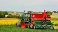 Siewnik zbożowy AGRO-MASZ redlice 2 talerzowe