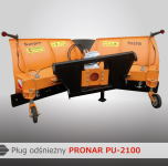 Pług odśnieżny PU-2100 PRONAR Wyprzedaż