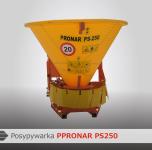 Posypywarka piasku PS-250 napęd WOM PRONAR Wyprzedaż