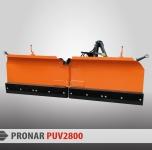 Pług odśnieżny PUV-2800 lemiesz gumowy PRONAR Wyprzedaż