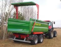 Przyczepa Ciężarowa Rolnicza Skorupowa PRONAR T679M 12t