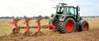 Pług Obracalny Obrotowy Zabezpieczenie Resorowe Rozstaw 100 AGRO-MASZ PO POR