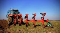 Pług Obracalny Obrotowy Zabezpieczenie Zrywalne Półautomatyczne Rozstaw 85 AGRO-MASZ PO