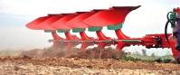 Pług Obracalny Obrotowy Zabezpieczenie Hydrauliczne Rozstaw 100 AGRO-MASZ PO POH