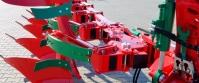 Pług Obracalny Obrotowy Zabezpieczenie Resorowe VARIO AGRO-MASZ POR POVR