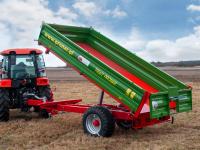 Przyczepa Ciężarowa Rolnicza Jednoosiowa PRONAR T654/2 4,9t