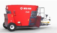 Wóz Paszowy Jednowirnikowy METAL-FACH T659 BELMIX 5m3 - 10m3 Konstrukcja Ramowa Obniżony