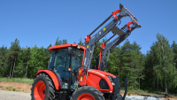 Ładowacz Czołowy Tur METAL-FACH T812 T812/1 T812/2 Udźwig 500KG 800KG