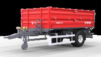 Przyczepa Ciężarowa Rolnicza Jednoosiowa METAL-FACH T957 5t
