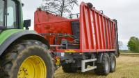 Przyczepa Ciężarowa Rolnicza Tandem METAL-FACH T935/6 zPrzesuwną Ścianą